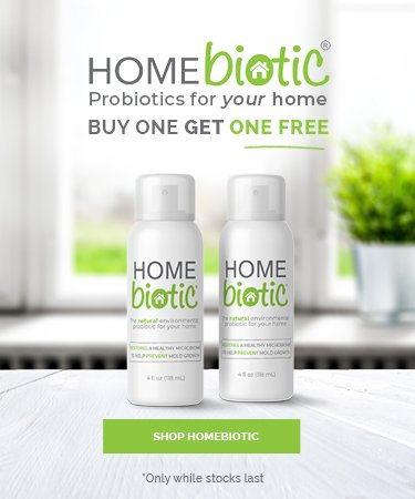 Homebiotic - Probiotic for the Home - BUY ONE GET ONE FREE