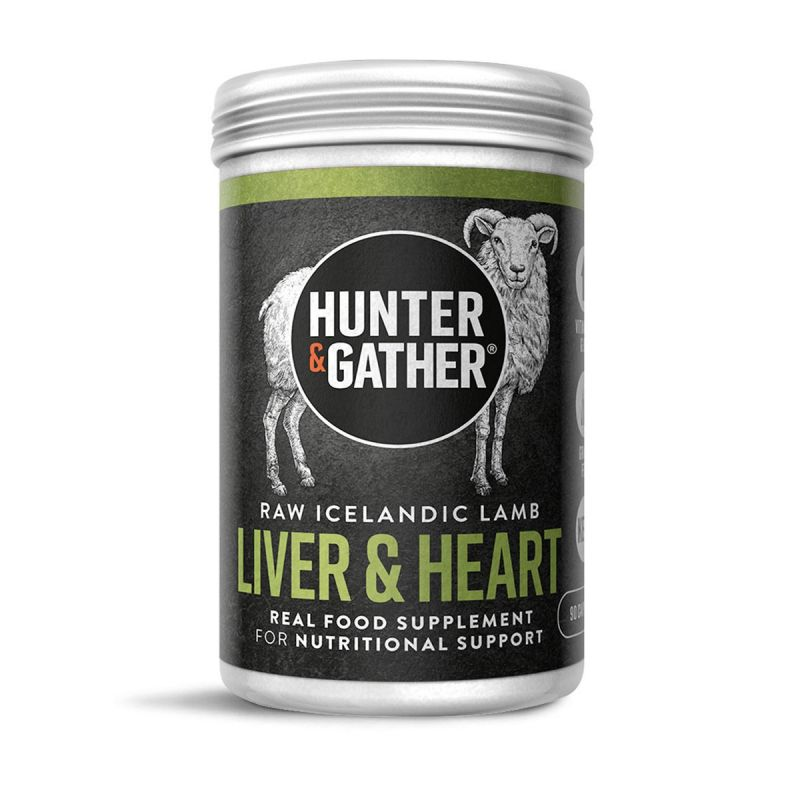 Hunter & Gather - Wild Grass Fed Liver and Heart Supplement