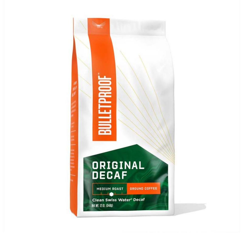 Bulletproof Coffee Original Decaf Ground 340g - Front