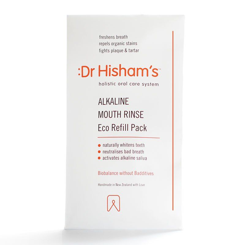 Dr Hisham's Alkaline Mouth Rinse: Eco Refill Pack