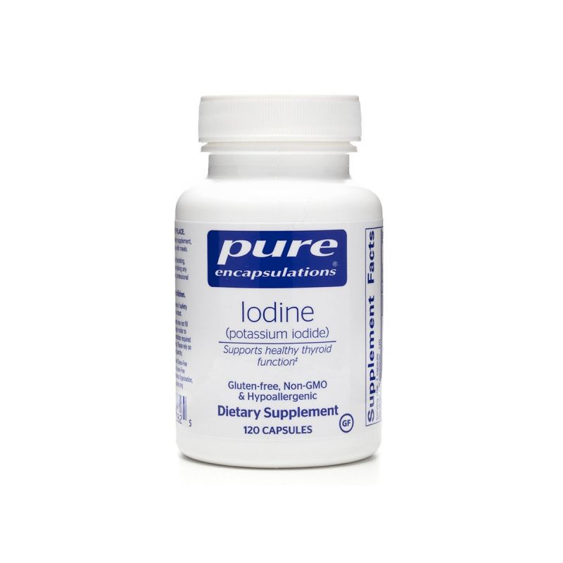 Pure encapsulations Iodine 120's - Front
