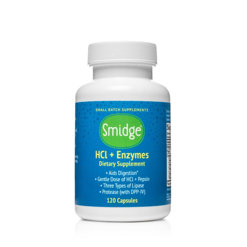 Smidge® HCl + Enzymes (formerly GutZyme® HCl)