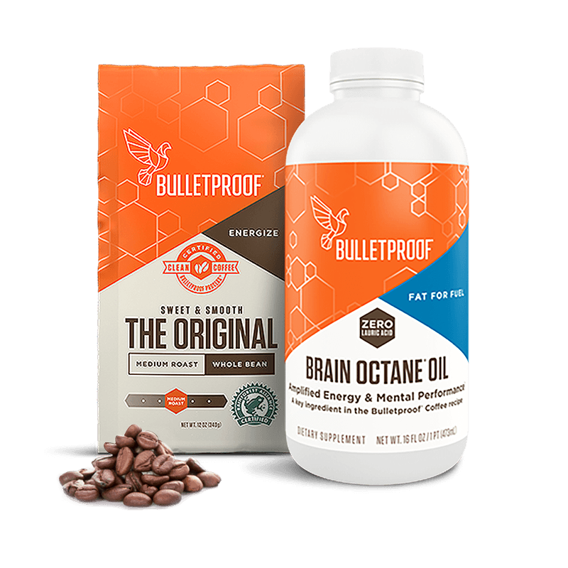 Bulletproof Starter Octane Kit - Whole Bean