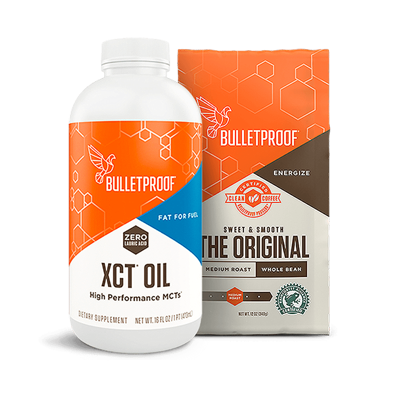 Bulletproof Starter XCT Kit - Whole Bean