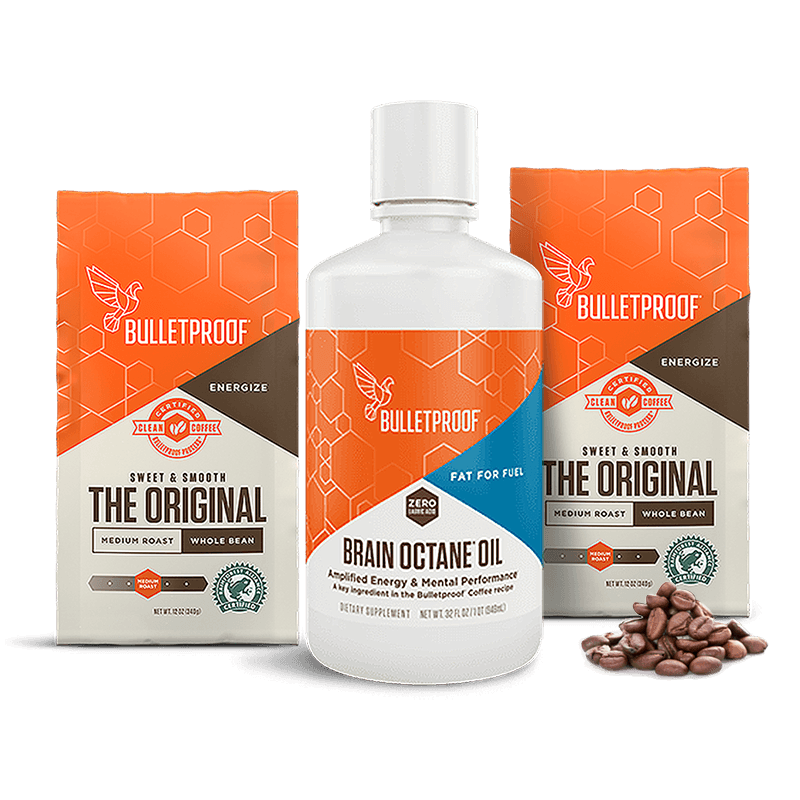Bulletproof Coffee Octane Kit - Whole Bean