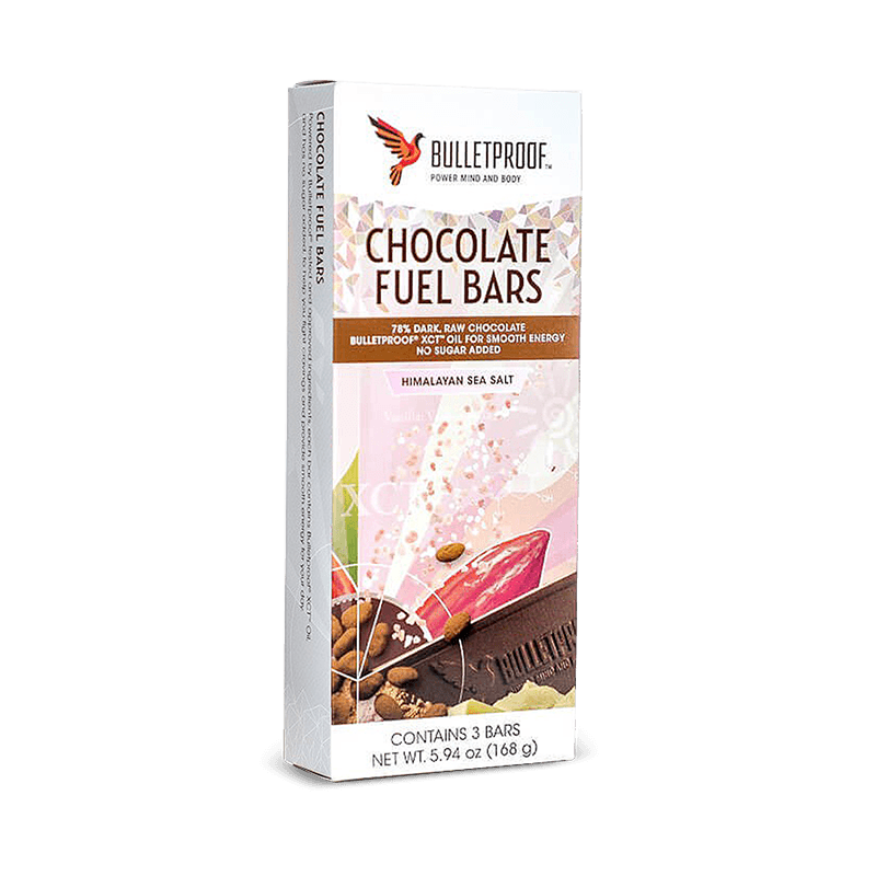 Chocolate Fuel Bars - Himalayan Sea Salt