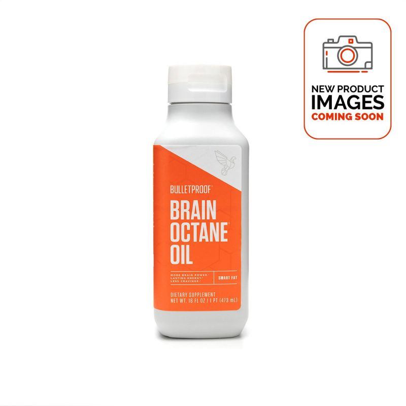 Bulletproof Brain Octane 473ml - Front