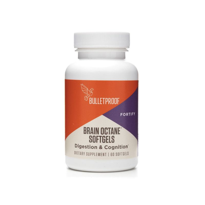 Bulletproof Brain Octane Softgels 60's - Front
