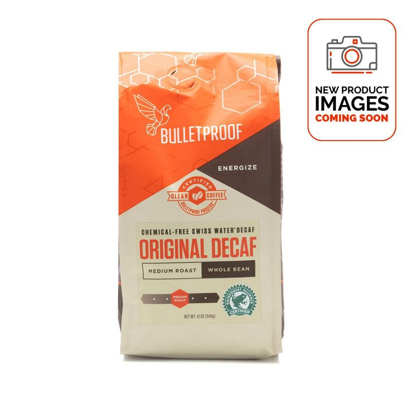 Bulletproof Coffee Original Decaf Whole Bean 340g - Front