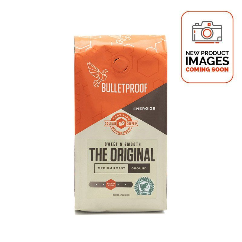 Bulletproof Coffee The Original Ground 340g - Front