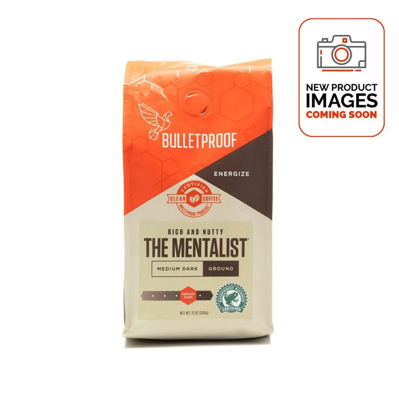 Bulletproof Coffee The Menatalist Ground 340g - Front