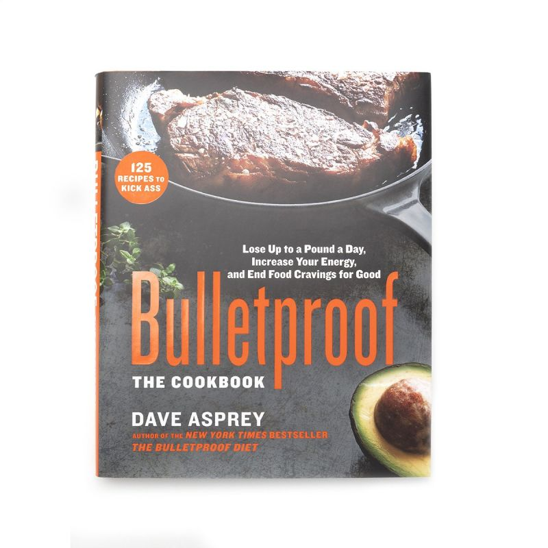 Bulletproof Cookbook - Front