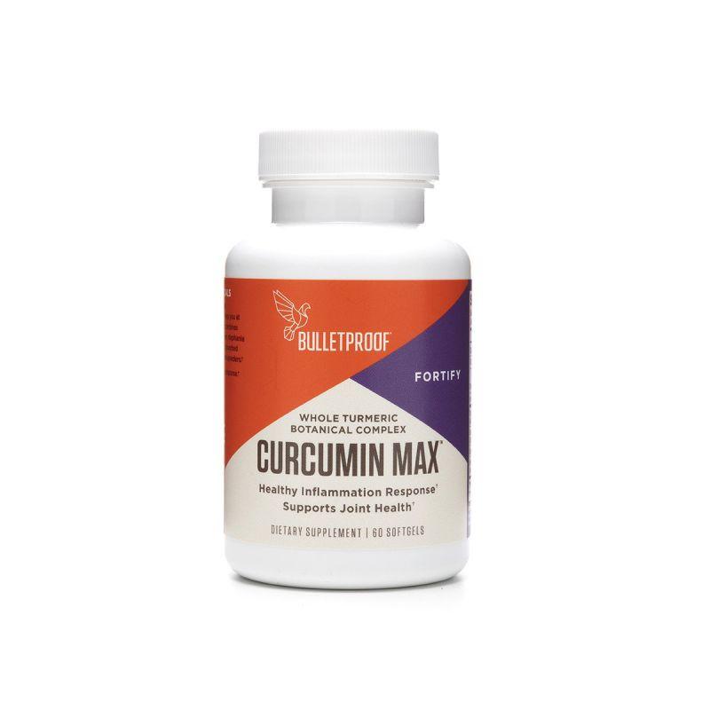 Bulletproof Curcumin Max 60's - Front