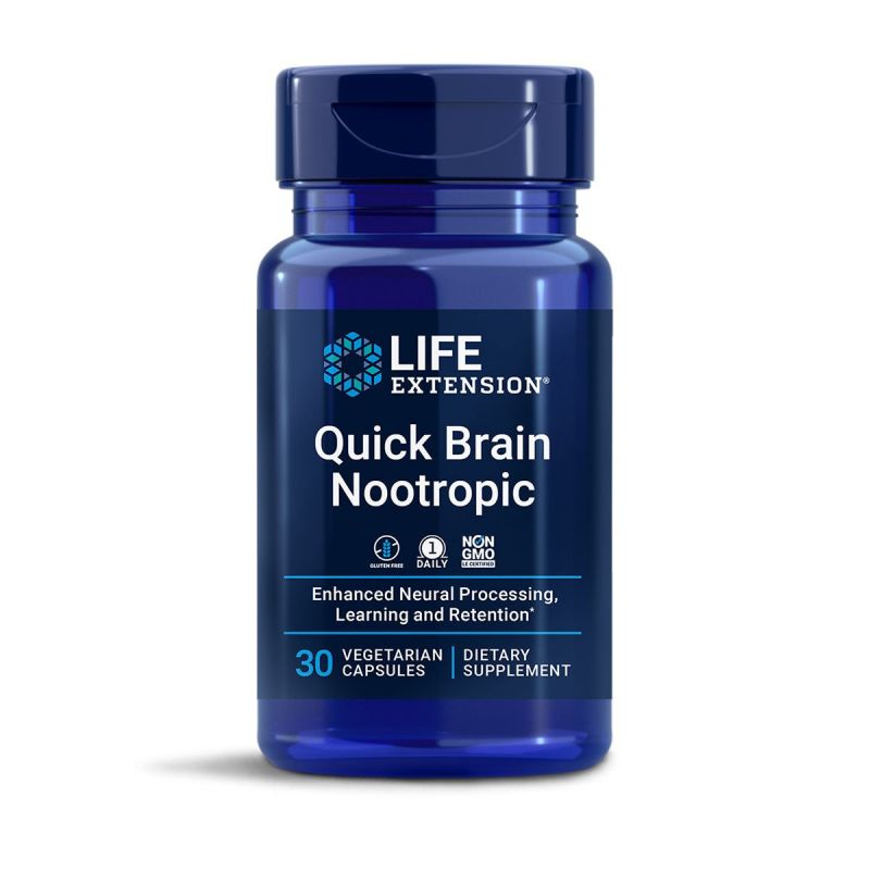 Life Extension – Quick Brain Nootropic