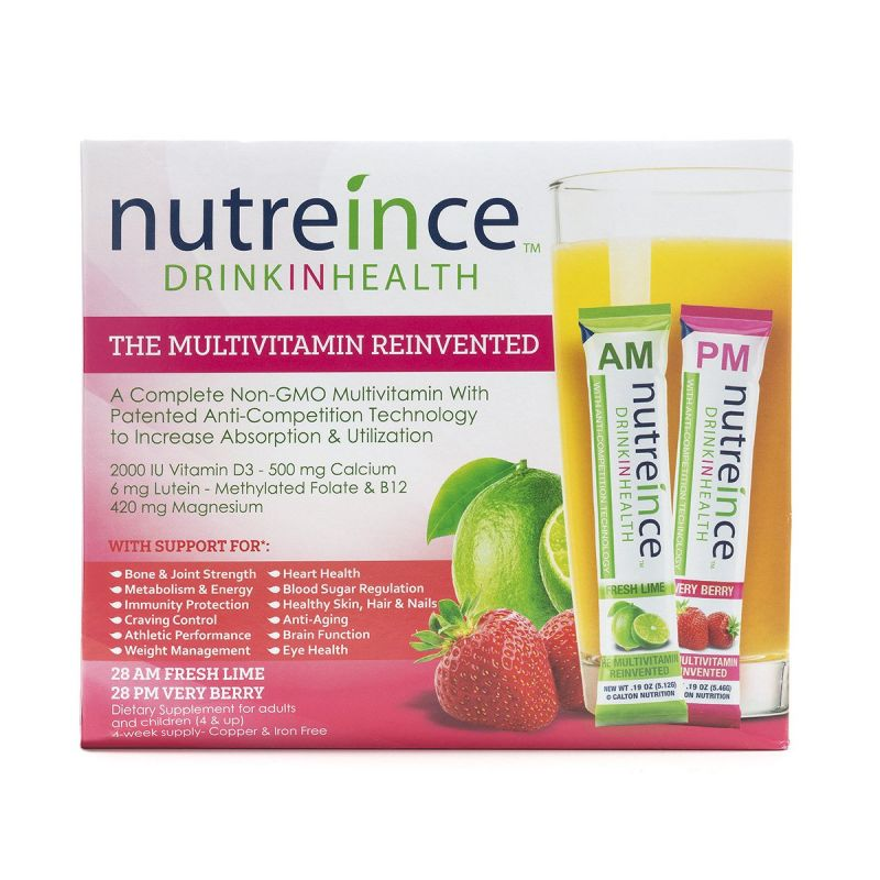 Nutreince Fresh Lime & Very Berry