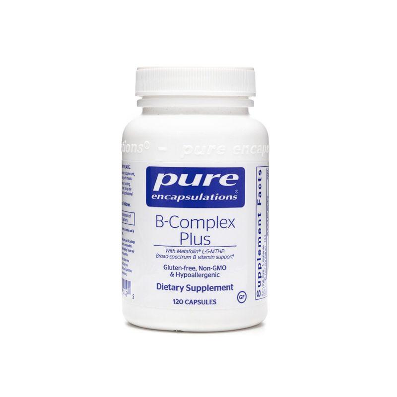 Pure encapsulations B-Complex Plus 120's - Front