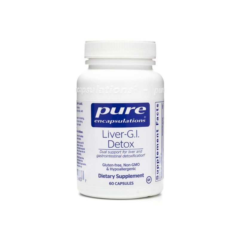 Pure encapsulations Liver-G.I.Detox 60's - Front