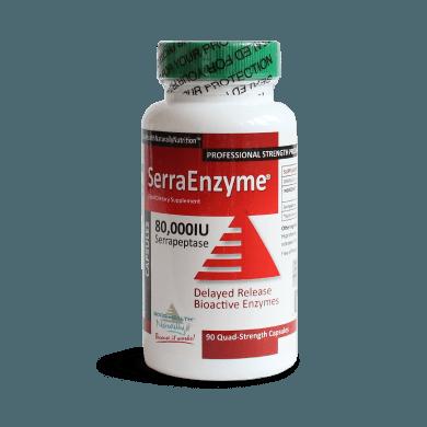 Serra Enzyme Serrapeptase (80,000IU)