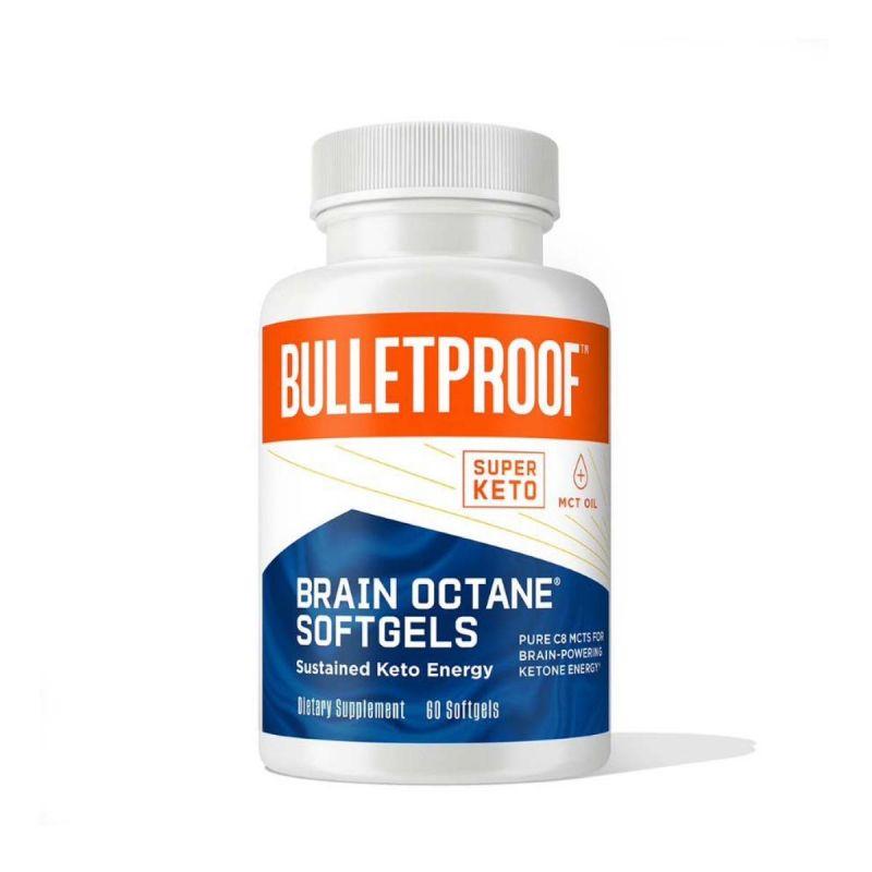 Bulletproof Brain Octane Softgels 60's - Front