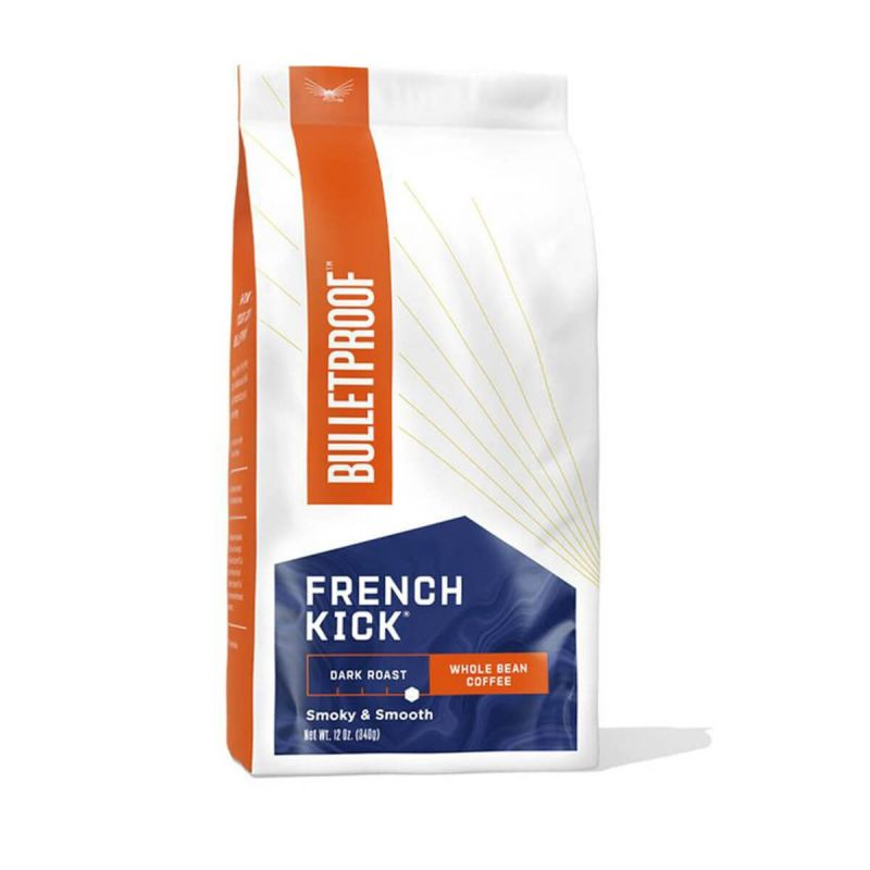 Bulletproof Coffee French Kick Whole Bean - front