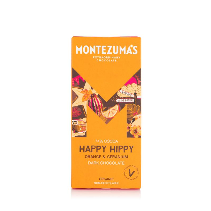 Montezuma's Happy Hippy 90g Chocolate