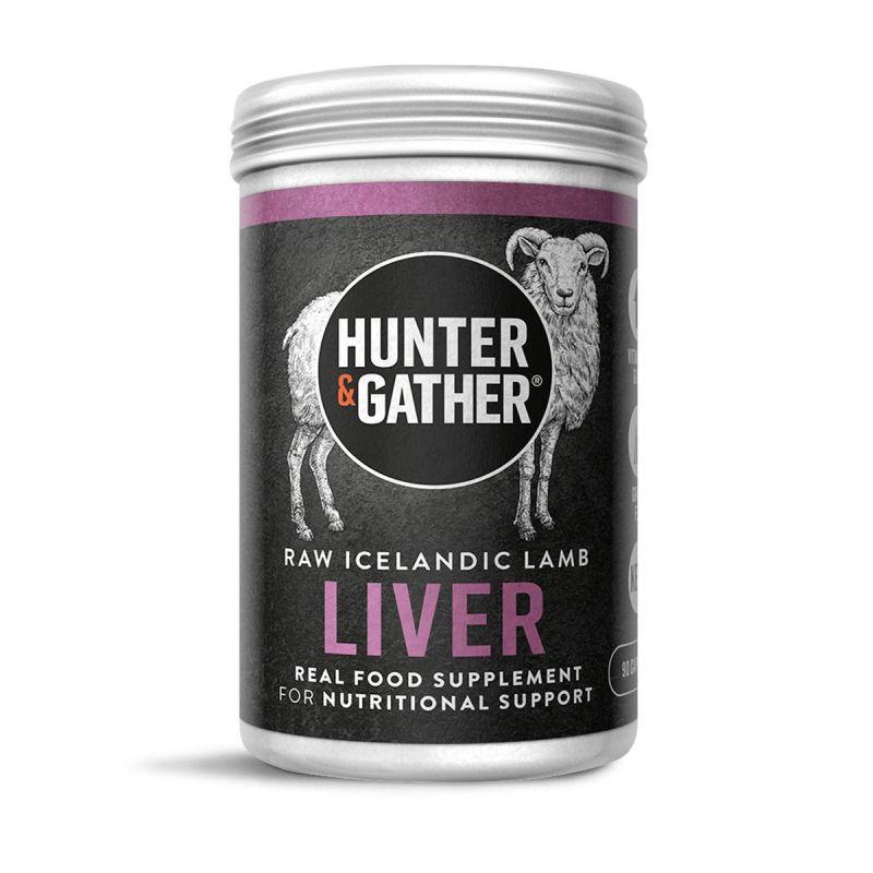 Hunter & Gather – Wild Grass Fed Liver Supplement