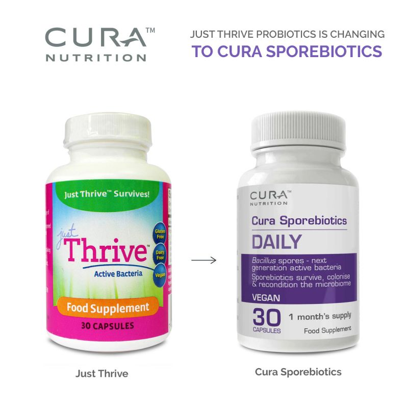 Just Thrive® UK re-branded to Cura™