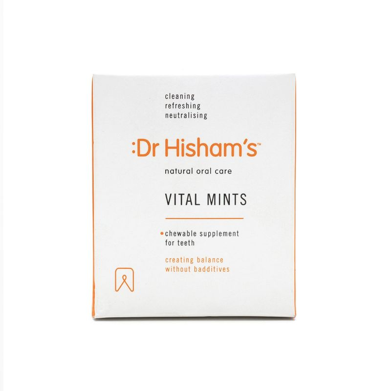 Dr Hisham's Vital Mints 4pack - Front