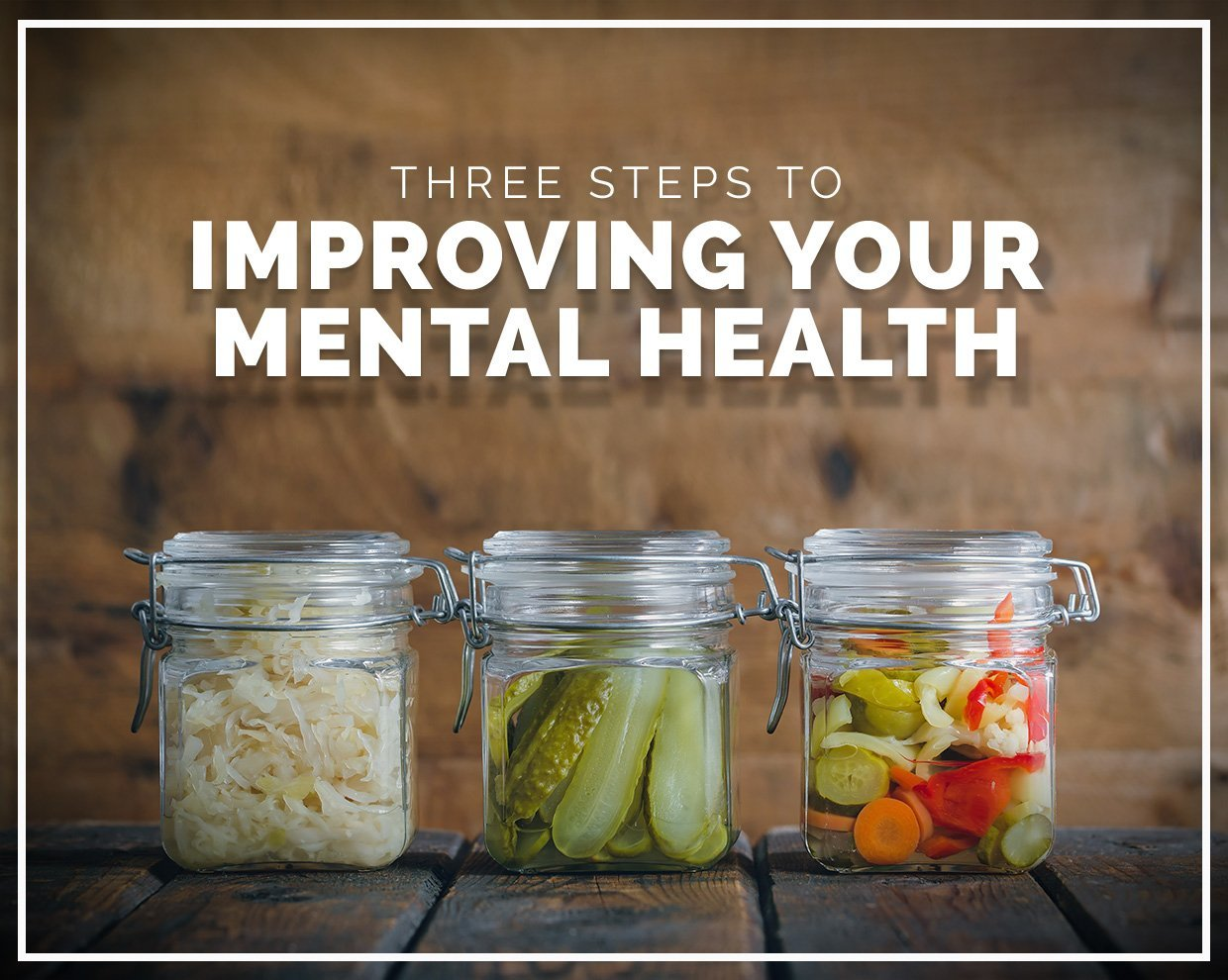 Three steps to improving your mental health using nutrition