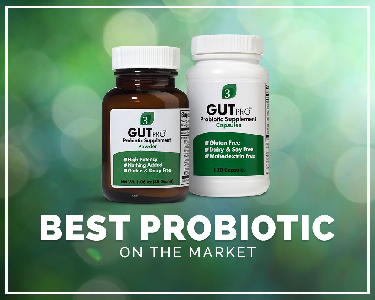 How we chose our preferred probiotic